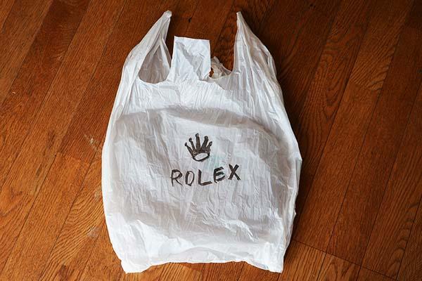 MI.INC感謝祭_ロレックスの袋